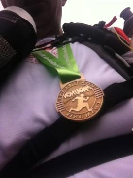 Finisher Marathon du mont blanc 2013