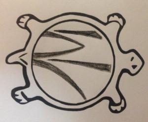 logo tortue RF Brut