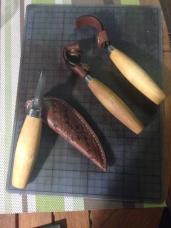 Panoplie de carving